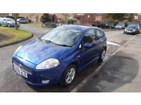 Fiat Punto Active Sporting 2007, long MOT, Great condition, only done 82k