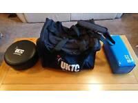 UKTC Taekwondo Bag Sparring Set