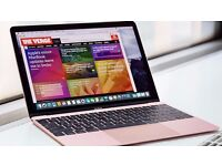 12inch MacBook Rose Gold Apple Laptop 2016