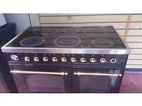 BRITANNIA CERAMIC Range Electric cooker in good working order 100cm 60cm £189