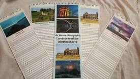 2018 landmarks of the northeast photo calendar