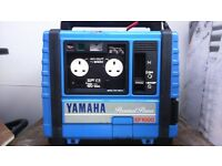 portable petrol generator YAMAHA EF 1000 excellent condition hardly used ideal for caravan Mobil hom