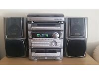 Hi fi with 5cd changer