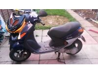 moped 50 cc needs mot but will fly through next one