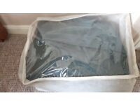 CARAVAN COVER 6 metre green cover. Excellent condition only used once .