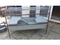 Large indoor guinea pig/rabbit cage