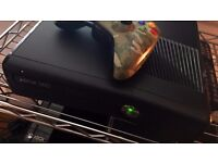 Xbox 360 with 2 call of duty games