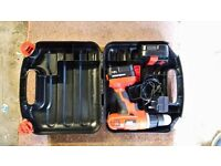 Black and Decker twin battery cordless drill