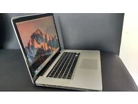 "Apple MacBook Pro A1286 15.4"" Laptop - MC373B/A (April,2010) 8GB RAM"