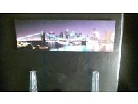 New York light up canvas picture £20