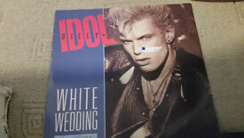 Billy Idol Vinyl White Wedding Parts I & II . Mega Idol Mix record