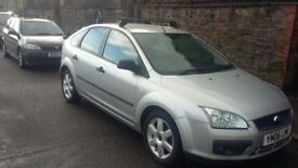 06 Ford Focus 1.8 Tdi Sport with roof rack