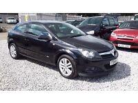 Vauxhall Astra Coupe Sxi, Black, Petrol, Manual, 2009(58) MOTExpires: 14 January 2017