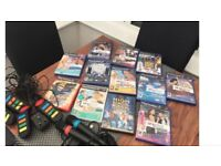 PLAYSTATION 2 SINGSTAR AND BUZZ