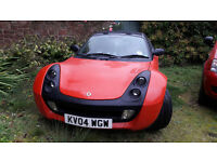 Smart Roadster Coupe, great fun small convertible
