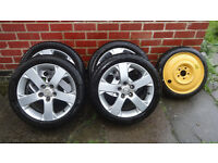"SET of MAZDA, SUZUKI, MITSUBISHI 205/50/17"" alloy wheels"