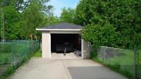 single garage for rent 11x20 (louth street, st.catharines)