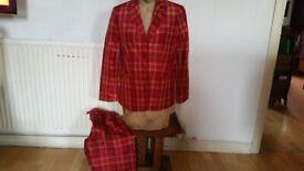 GERRY WEBER Vintage 70's High Waist Ladies Trouser Suit. Size : 12
