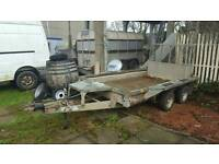 2008 ifor willams gx105hd plant trailer no vat