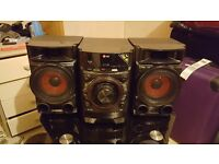 LG CM4330 mini hi-fi system 180W with fantastic sound
