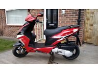Yiying 125cc Moped - Mot Due 1st December 2018