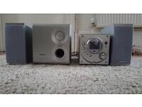 Goodmans CD/Radio with Subwoofer
