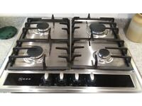 Two year old Neff gas hob
