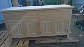 Solid Pine Base Cabinet, Dresser, Free Standing