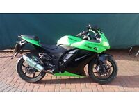 Kawasaki EX250R Ninja - Full Mot - 2009 - Can be ridden on A2 Licence-Nationwide Delivery Available