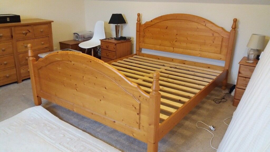 King Size Bed For Sale £60