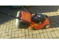 flymo 40cm petrol lawnmower