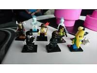 Genuine lego minifigures