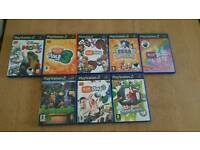 PlayStation 2 Bundle of Eye Toy games
