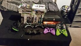 Xbox 360 250 gig with 37 games