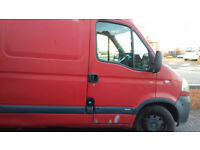 8830b134eb Vauxhall Movano Van for sale red MWB partly lined new sliding door alarm  tracker 2 keys