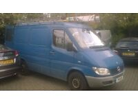 2004 Mercedes Sprinter SWB Excellent running condition ready for work