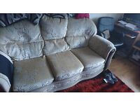 sofa and chair free to collect mansfield