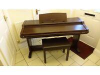 TECHNICS DIGITAL ENSEMBLE PCM PR250 ELECTRIC PIANO