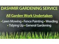 Dashmir Gardening Service & Tree surgery