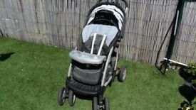 Mothercare pram with carrycot suitable from birth up to 4 years old