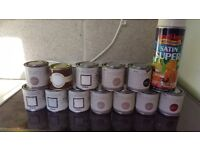 Sample pots oc paint nearly all full