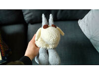 Crocheted Goat Doll - High Quality - One of a Kind