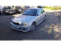 2001 BMW 330 CI M Sport Coupe 3.0 petrol,123k miles,BMW service history,sport leather