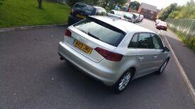 2013 Audi A3 1.6 TDI SE 5D 105ps (0£ Road Tax)