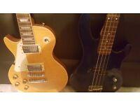 Electric Guitar - Bass guitar Ashton