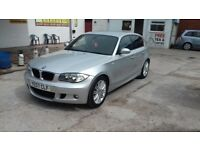 BMW 1 series 2007 patrol 5 door m sport CLEAN CAR