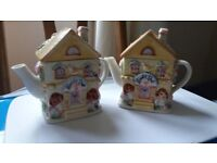 Teapots Flower Shop £8 for pair or £5 each.