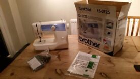 Never used Brother LS-2125 Sewing machine