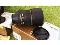 Nikon Nikkor AF-S G 85mm f/1.4 AF-S G Lens