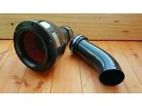 Pod filter carbon fibre cold air intake